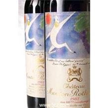 1982年木桐堡(Ch.Mouton Rothschild)法国葡萄酒
