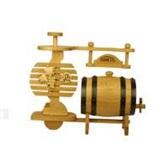 木本色葡萄酒架式橡木酒桶