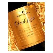 2001年澳大利亚*鹰标* Wolf blass shiraz (西拉子)* Gold label