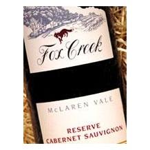 1999 Fox Creek澳大利亚葡萄酒RESERVE 赤霞珠