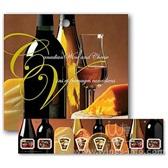 美酒和奶酪---加拿大发行的葡萄酒相关邮票小本票