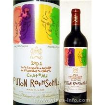 2001年木桐堡(Ch.Mouton Rothschild)