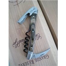 Laguiole|拉吉奥乐城堡酒刀[法国国刀.酒刀之王]橡木手柄