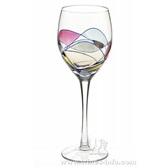 蓝彩经典白葡萄酒杯