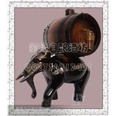 橡木桶厂家直销*0.75仿古色大象橡木桶*自酿葡萄酒专用*工艺品