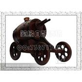 橡木桶厂家直销*0.75L四轮古炮车*自酿葡萄酒专用*工艺品