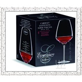 水晶酒杯*意大利路易治.波米奥尼水晶系列*4个增芳德红酒杯