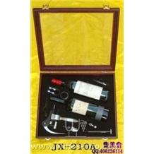 8件木盒装双瓶高级红酒套装 JX-210A
