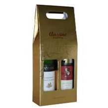 葡萄酒 纸礼盒装 金色 AG6907