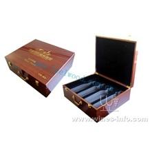 带配件酒盒、冰酒木盒、红酒包装木盒、高档红酒盒、葡萄酒木盒