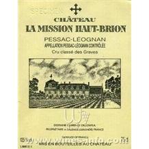 Chateau La Mission Haut Brion, 2006, 拉蜜神奥比昂