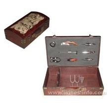 木制仿古酒盒