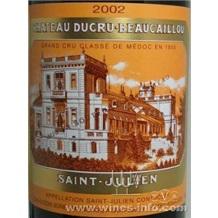 Chateau Ducru Beaucaillou 2002,宝嘉龙庄