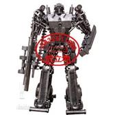 钢铁机器人模型 酒架