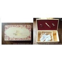红酒木盒,单支红酒木盒、双只红酒木盒(飞展包装)