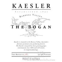 2002 Kaesler Shiraz, The Bogan, 凯斯勒酒庄