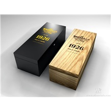法国红酒木盒、进口红酒皮盒、仿古盒