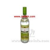 原装进口洋酒苏联绿牌伏特加 MOSKOVSKAYA Vodka