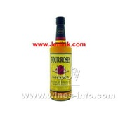 原装进口洋酒四玫瑰波本威士忌 Four Roses Bourbon Whisky 70cl