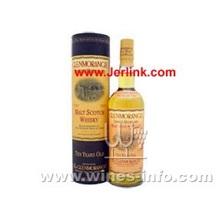 原装进口洋酒格兰治(格兰杰) 10年麦芽威士忌 Glenmorangie 10 Years Single Malt Whisky 70cl