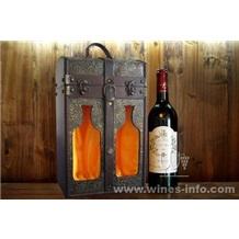 红酒木盒、木制红酒包装盒、仿古木制葡萄酒盒(春节送礼,进口红酒配高档红酒盒,热卖热卖!!)
