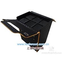2011年春节、圣诞节皮制葡萄酒盒、真皮酒盒、皮革红酒盒