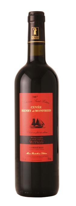 亨利蒙弗雷系列干红葡萄酒