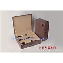 高档酒盒、红酒包装盒、红酒木盒包装(装红酒 包装红酒的精品礼盒)