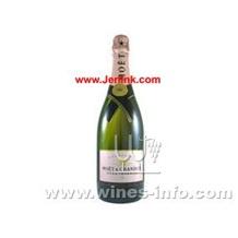 原装进口法国酩悅玫瑰红香槟 Moet & Chandon Brut Rose NV 75cl