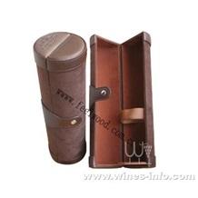 高档皮质红酒盒(PU革、皮革、皮、皮料、真皮)