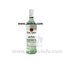 原装进口百加得白朗姆酒 BACARDI CARTA BLANCA Rum 75cl
