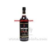原装进口摩根船长(黑标)朗姆酒 CAPTAIN MORGAN Rum Black Label 75cl