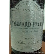 POMMAND 1ER CRU LES CHANLINS-BAS 玻玛一级葡萄园干红葡萄酒