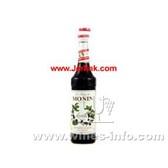 原装进口法国慕玲蓝梅糖浆 Monin Blueberry (Myrtille) Syrup