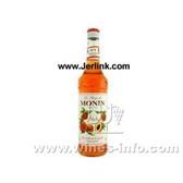 原装进口法国慕玲香桃糖浆 Monin Peach (Peche) Syrup