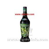 原装进口法国唯津绿薄荷糖浆 Vedrenne Green Mint (Menthe Verte) Sirop