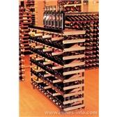 展示波多(BORDEX)红酒架1.2米60瓶