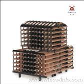 波多1米梯形展示储藏红酒架