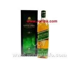 尊尼获加15年绿牌威士忌 Johnnie Walker Pure Malt 15 Years 75cl