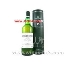 雷霍尔麦芽15年威士忌 Laphroaig 15 Years Single Malt 70cl