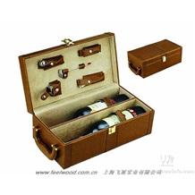 皮质红酒盒0040、飞展皮质红酒盒0040(飞展包装)