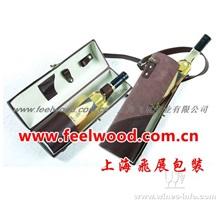皮质红酒盒0045、飞展皮质红酒盒0045(飞展包装)