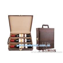 皮质红酒盒0052、飞展皮质红酒盒0052(飞展包装)