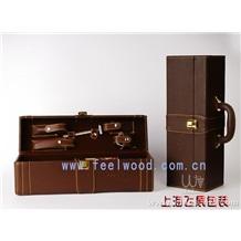 中秋红酒礼盒005(上海飞展包装)