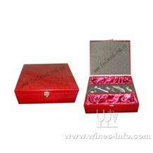木制仿古红酒盒、木制仿古葡萄酒盒、木质仿古高档酒盒(飞展中秋红酒礼盒)