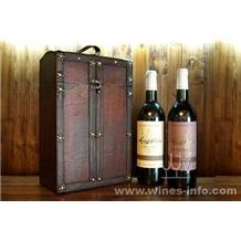 仿古红酒盒、仿古木红酒盒、仿古包装酒盒、仿古木盒(飞展红酒包装)