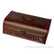 木制仿古红酒盒、木制仿古葡萄酒盒、木质仿古高档酒盒(上海飞展中秋红酒包装盒)