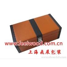 单、双瓶套装皮制红酒盒(工厂现货热卖)