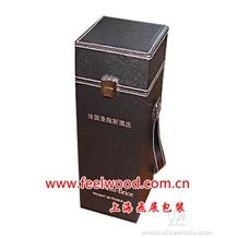 仿皮红酒盒、仿皮红酒包装盒(中秋礼盒、中秋红酒包装盒\现货红酒包装盒)