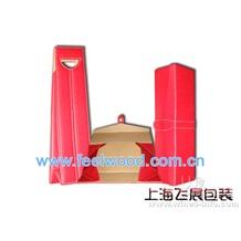 红酒包装盒 双支皮盒 (工厂全部现货 )